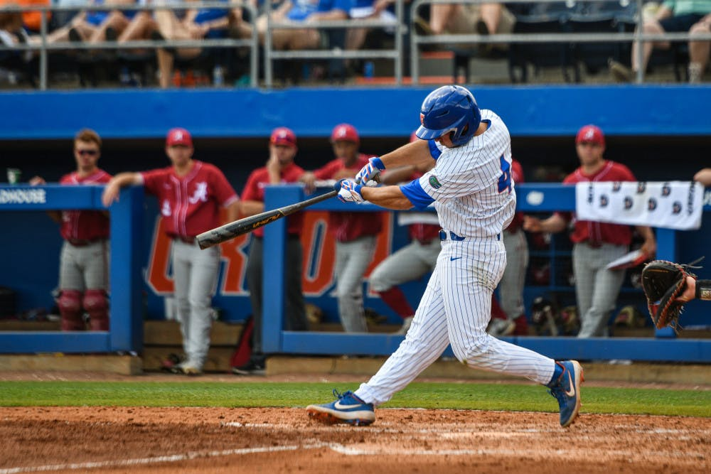 <p>Sophomore Jud Fabian is hitting .342 this season.</p>