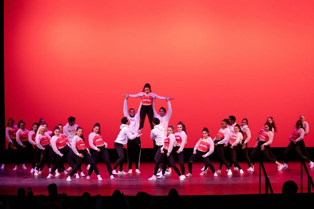 "<p dir=""ltr""><span>Sabor Latino</span><span>, a Latino dance club at UF, starts their routine at the 2019 Soulfest, which is hosted as a part of Gator Growl in an effort to showcase and celebrate the diversity and talent among the students at UF.</span></p><p><span> </span></p>"