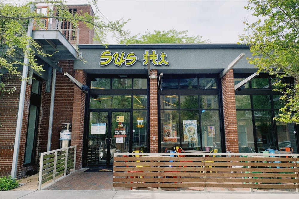 Founded in 2011 in Central Florida, Sus Hi Eatstation now has two Gainesville locations. [photo by Kristin Bausch]