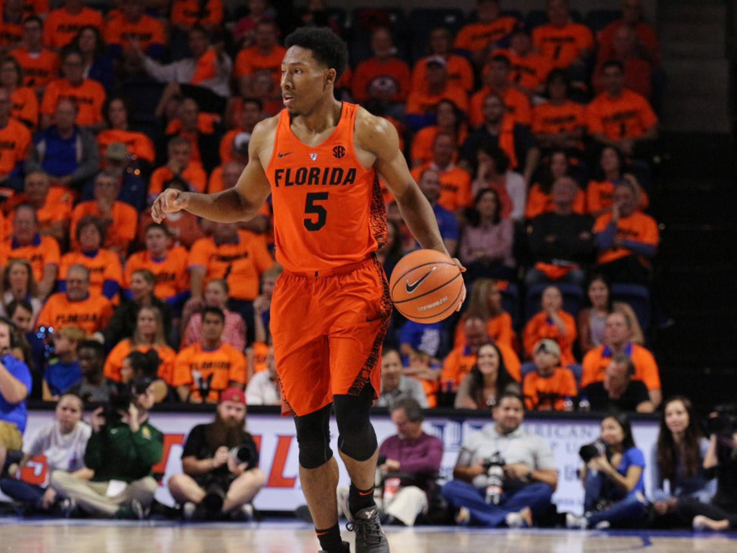 Senior guard KeVaughn Allen was held to zero points in Florida's 81-60 loss to Florida State.