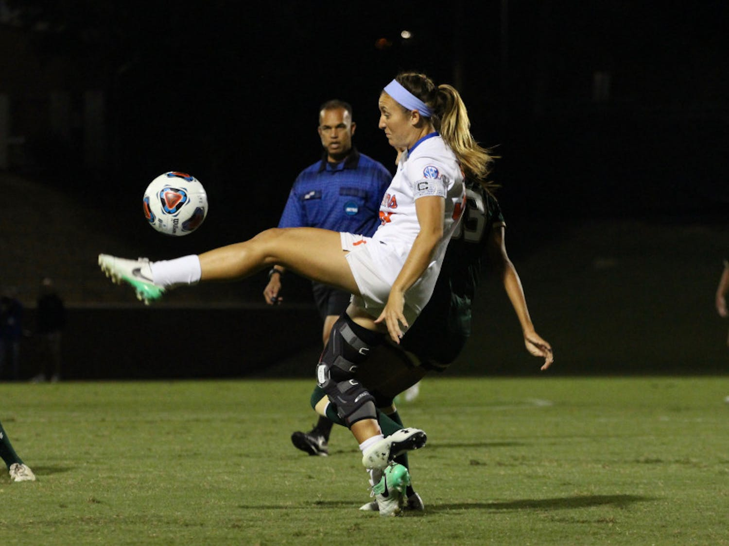 Gabby Seiler was recruited by Cameron Newbauer while he was an assistant coach with Georgia. Nearly nine years later and after leading UF soccer to a 17-7 record and an NCAA quarterfinals appearance, Seiler is finally on his team.
