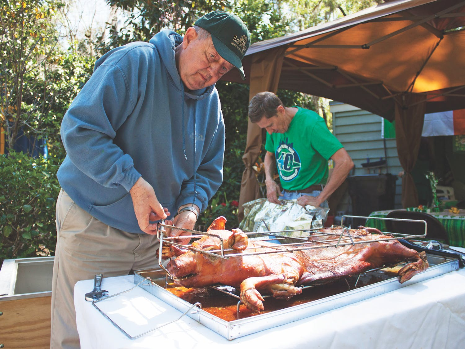 Jim Ferrer, the former assistant vice president of finance and planning at UF,hosted a St. Patrick's Day partySaturday at his house to celebrate the holiday for the past five or six years.