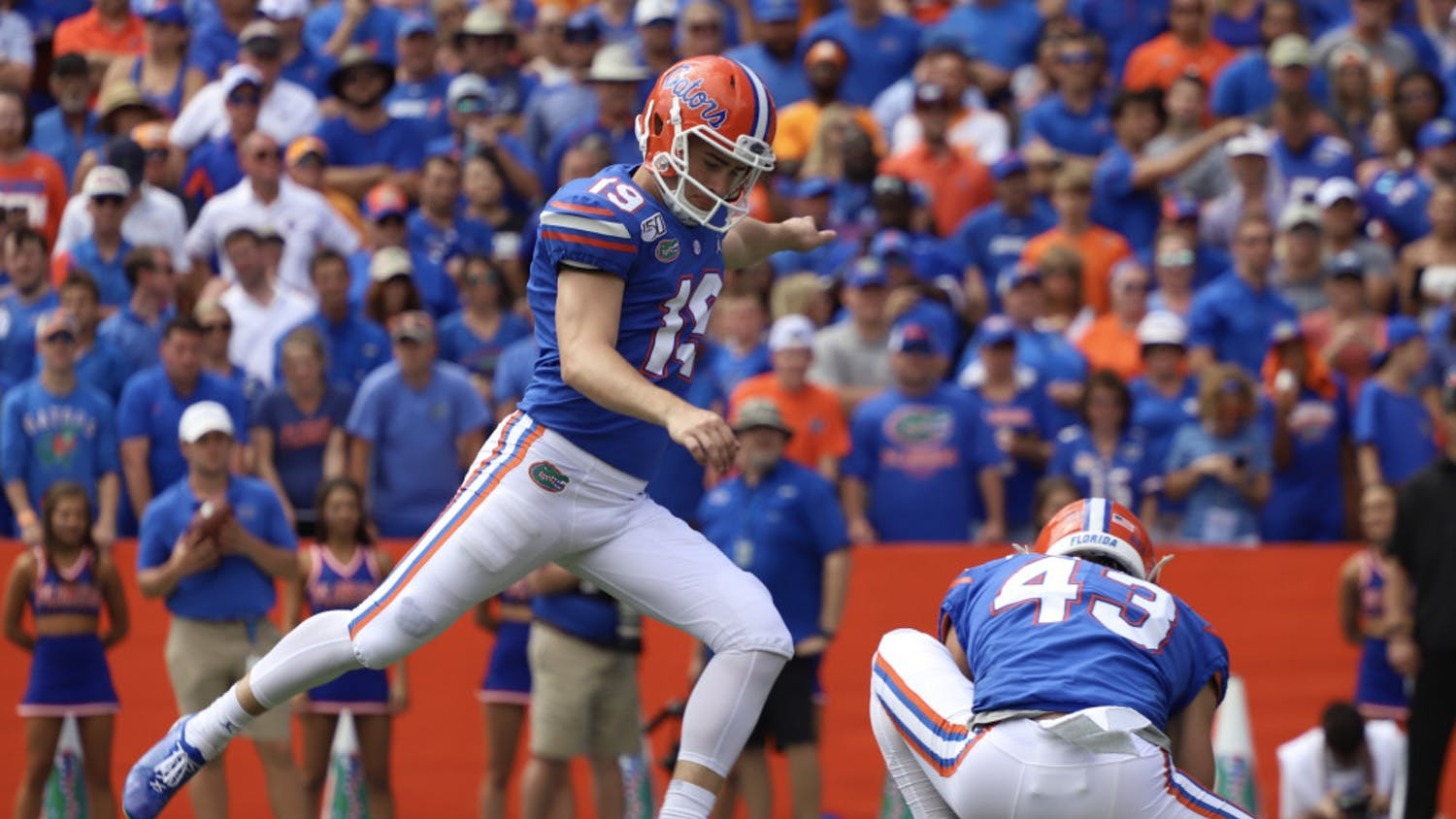 Gators kicker Evan McPherson said that holidays away from home is one of the sacrifices he makes to play Division I football at UF.