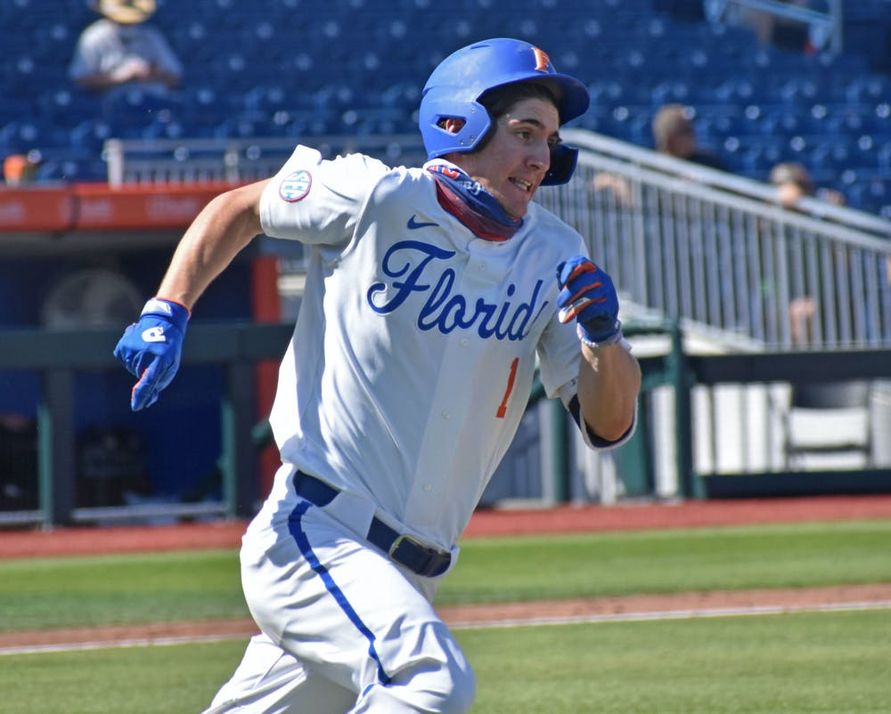 No. 15 Florida took down Auburn 4-2 in the series opener Friday night and extended its win streak to a season-long seven games. Photo from UF-Jacksonville game March 14.