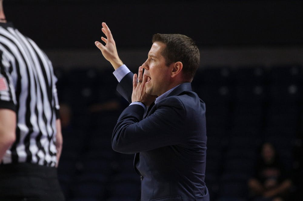"""<p>Despite five consecutive losses, coach Cameron Newbauer likes the progress he has seen in his team. """"<span id=""""docs-internal-guid-28dd5f69-97dc-55ac-d321-50080a928010""""><span>I'm just so proud of our squad,"""" he said.</span></span></p>"""