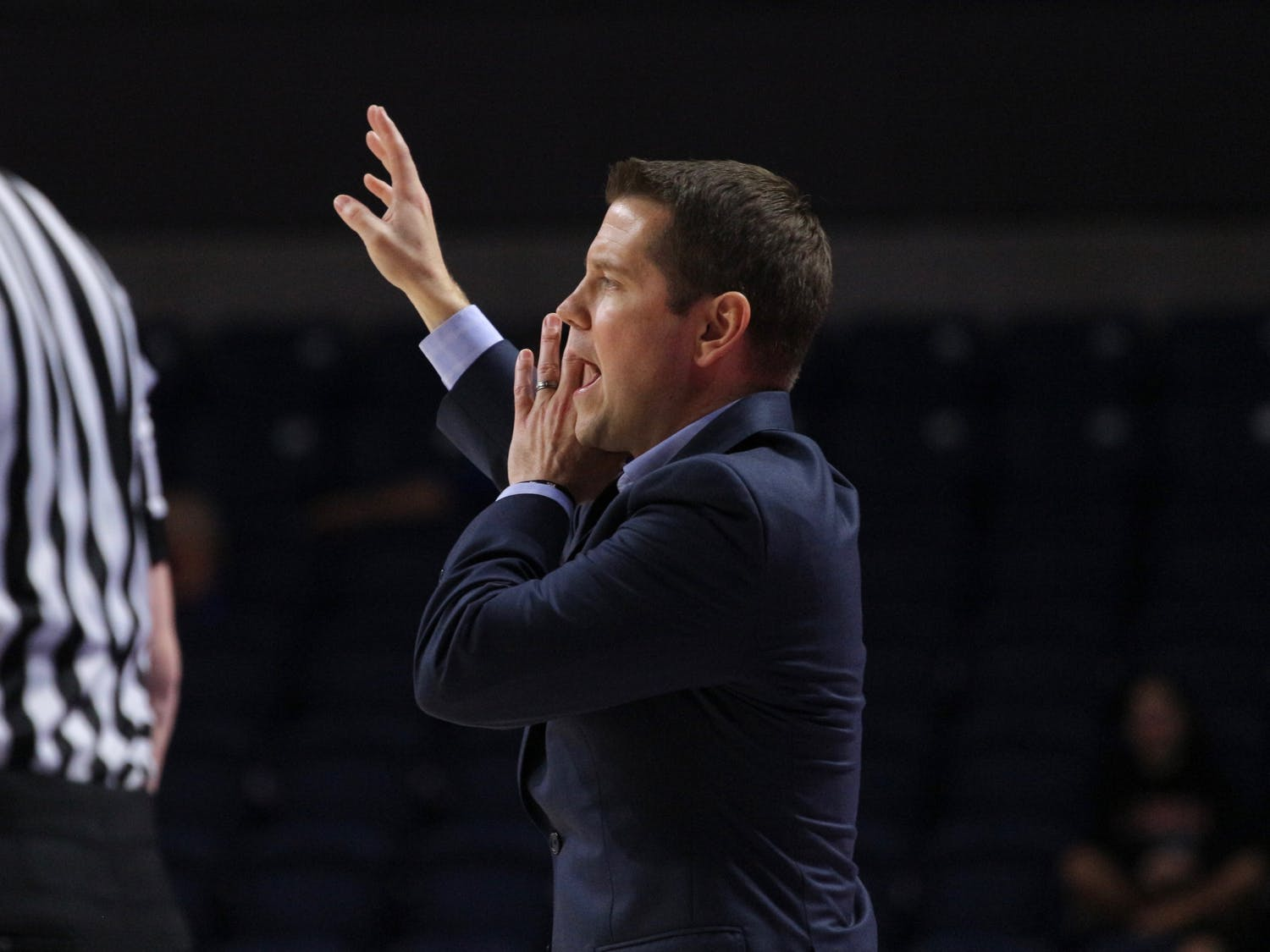 """Despite five consecutive losses, coach Cameron Newbauer likes the progress he has seen in his team. """"I'm just so proud of our squad,"""" he said."""