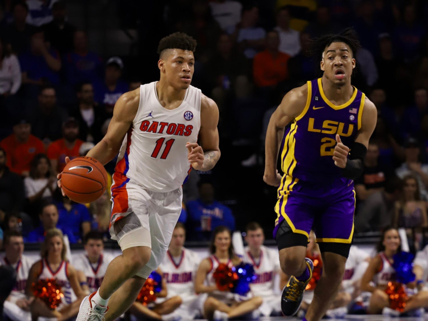 The SEC released its men's basketball conference schedule Friday. The Gators will play LSU at home and away in the 2020-21 season.