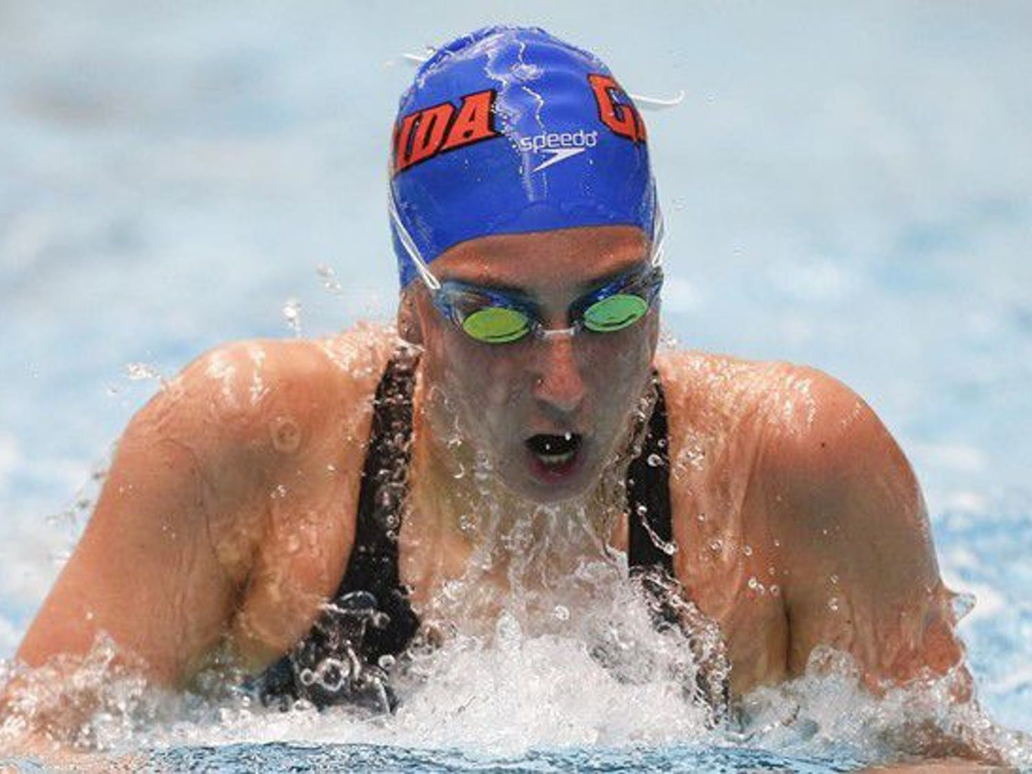 UF swimmer Kelly Fertel represented Team USA in the Maccabiah Games in Israel over the summer.