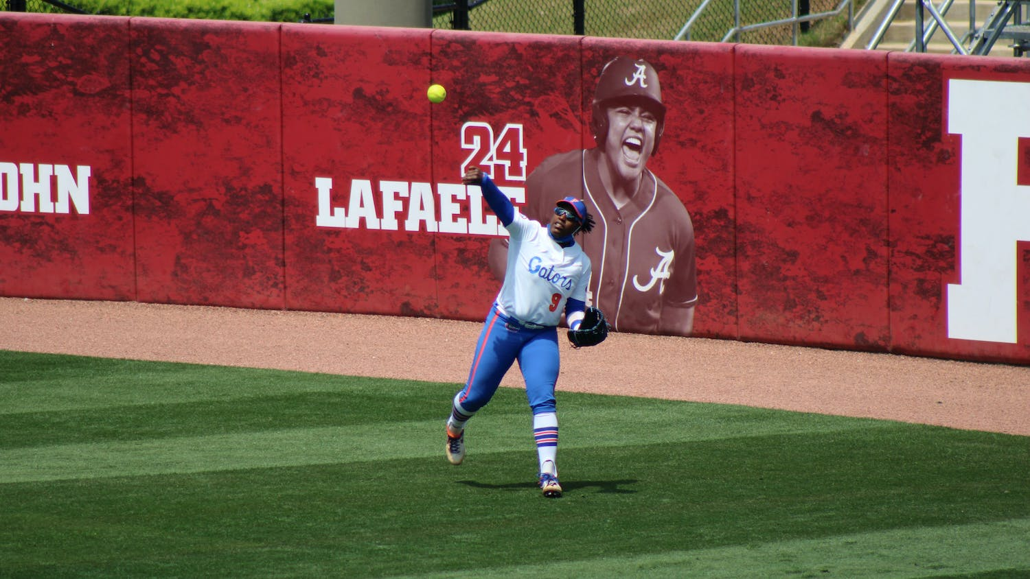 Outfield Jamie Hoover provided a clutch homer in Florida's 5-2 victory over Missouri Friday.