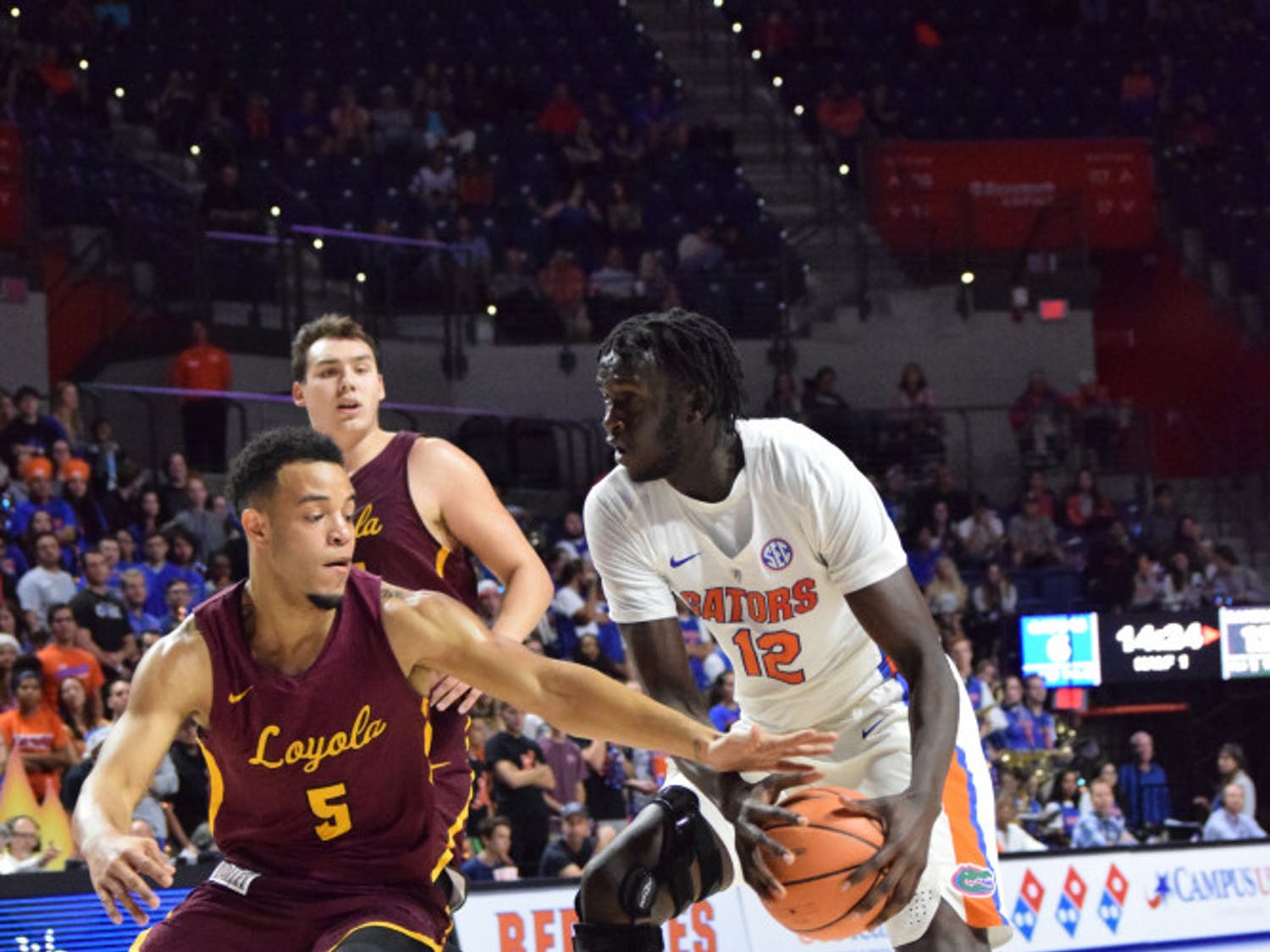 Center Gorjok Gak dislocated his shoulder in the offseason. He missed all of 2018-19.