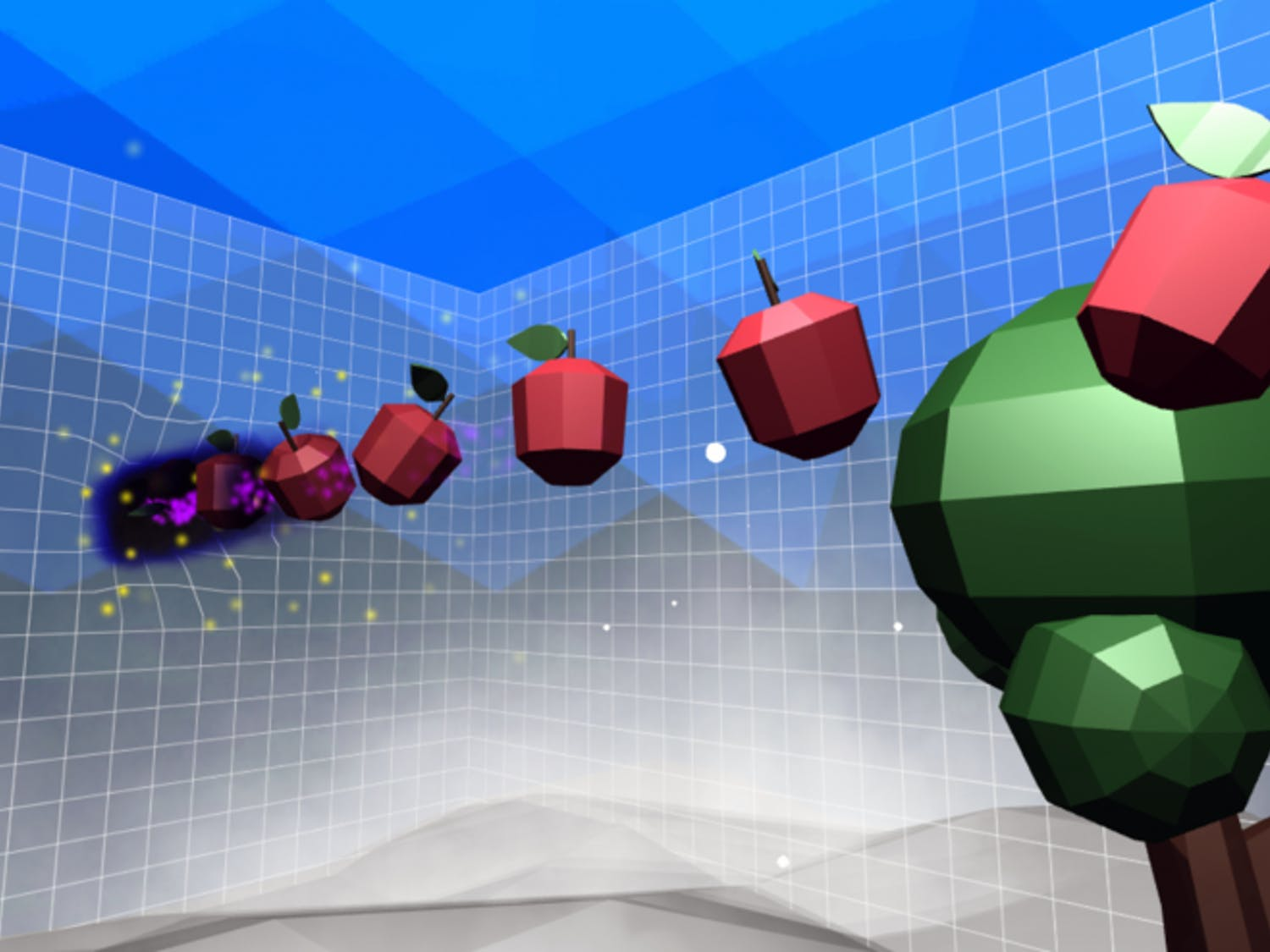 A screenshot of gameplay from Newton's Dream