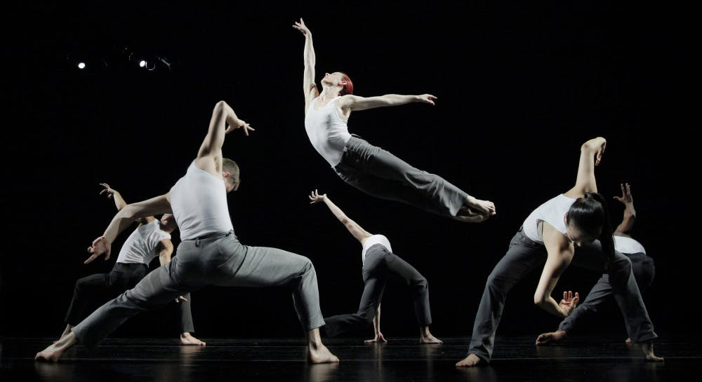 """<p><span>Jessica Dunn leaps through the air in a moving performance of """"Formulae and Fairy Tales.""""</span></p>"""