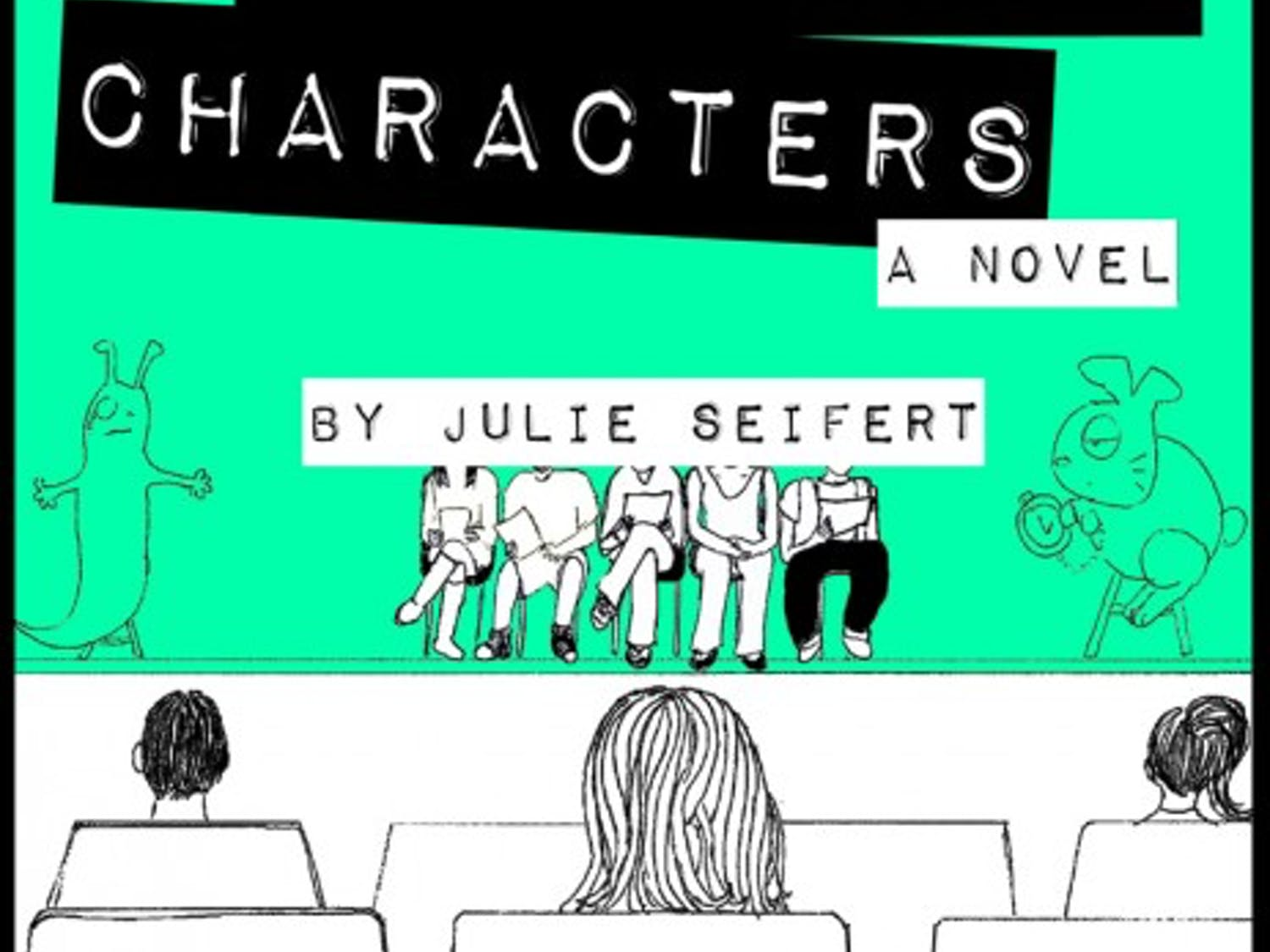 """""""Cardboard Characters"""" took nearly three years to write, but it was worth it for author Julie Seifert."""