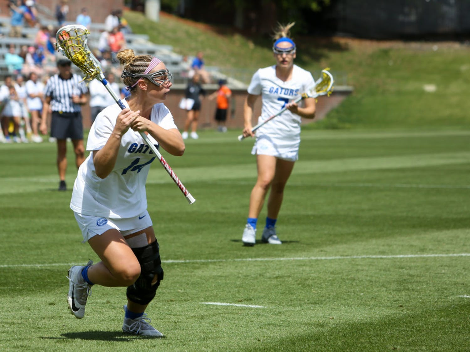 Senior Lindsey Ronbeck led the way with six goals as Florida won its first American Athletic Conference Tournament championship on Saturday.