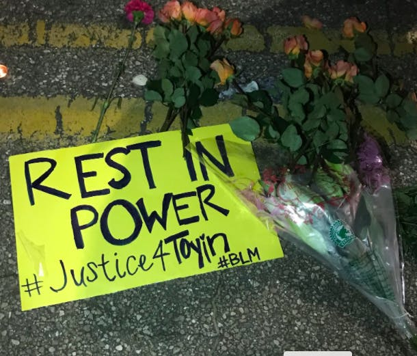 Justice 4 Toyin Poster