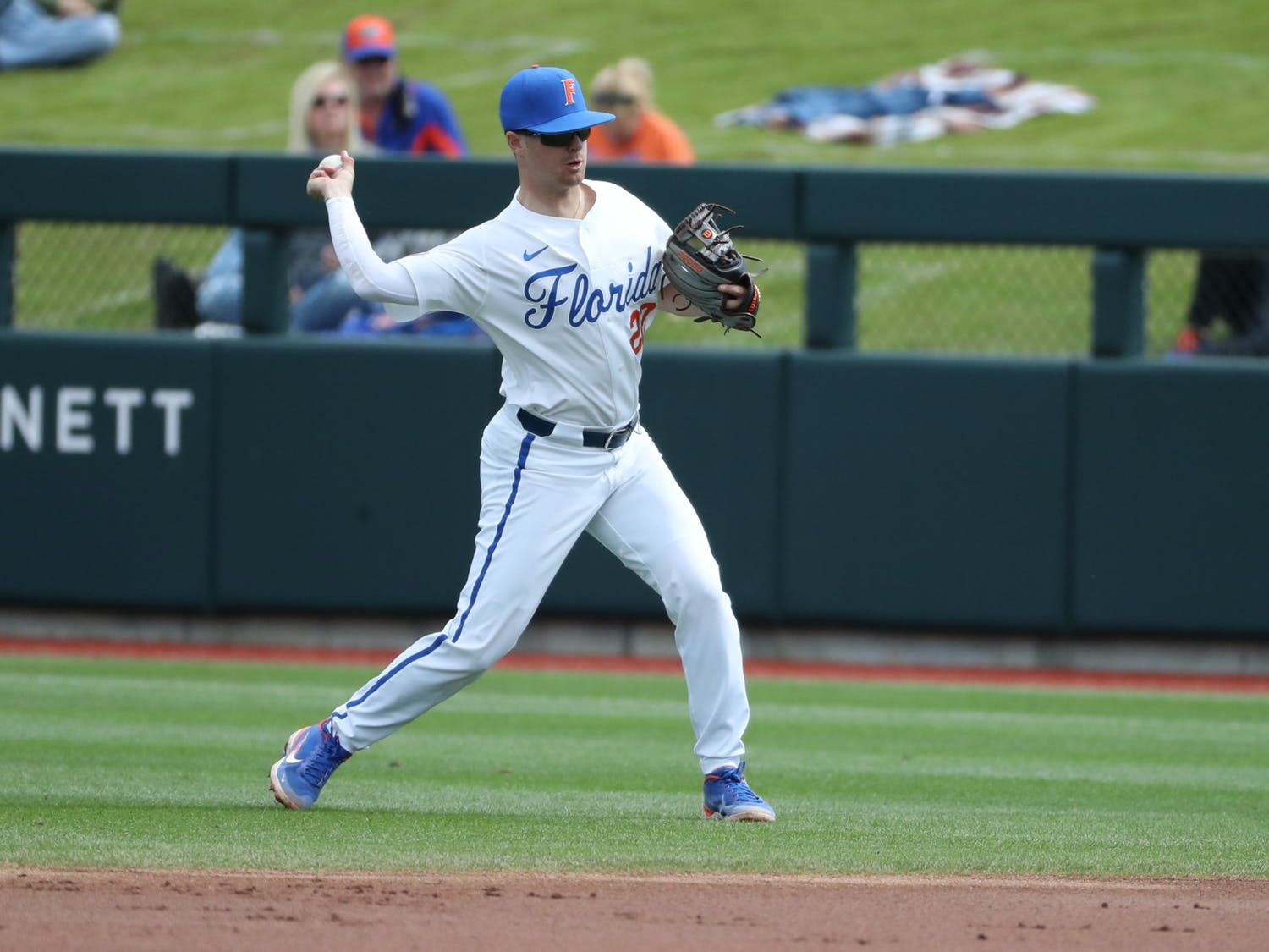 The Gators play their fifth game in six days Wednesday. Photo from UF-UM game Feb. 21. Courtesy of the SEC Media Portal.