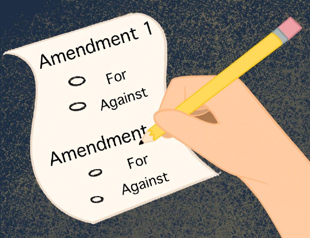 Amendment 1 and 4