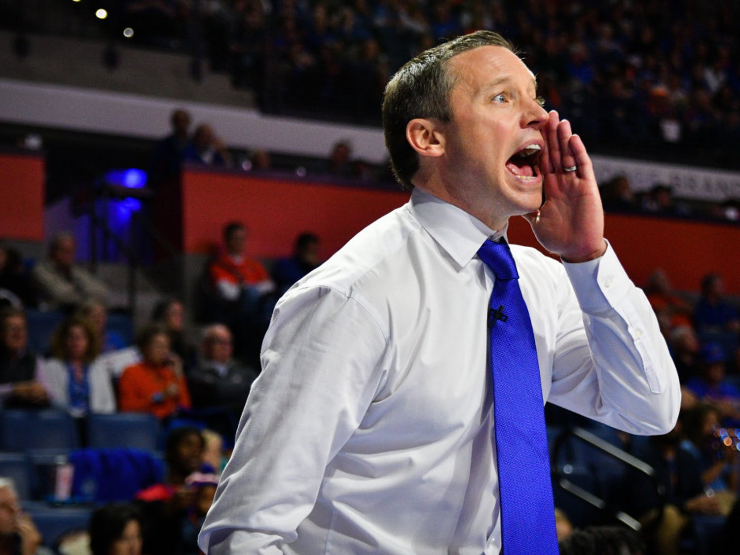 Florida men's basketball coach Mike White and the Gators play Vanderbilt at 9 p.m. on Wednesday at the O'Connell Center. The Commodores are looking to pick up their first SEC win of the season.