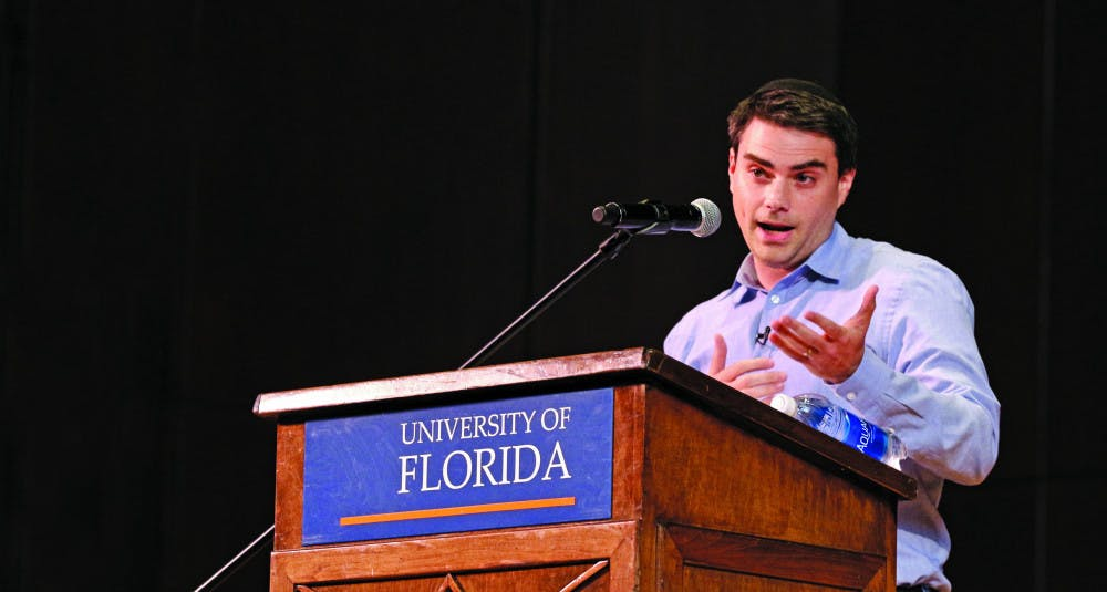 """<p dir=""""ltr""""><span>Ben Shapiro, 33, a Harvard Law graduate and conservative political commentator, columnist and radio talk show host, delivered his talk inside the University Auditorium on Monday night. Shapiro's appearance was hosted by Accent Speakers Bureau and UF Young Americans for Freedom.</span></p><p><span></span></p>"""