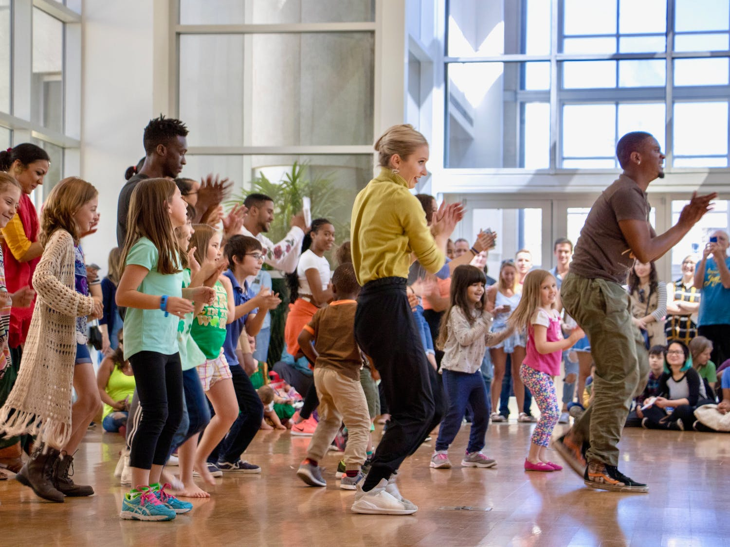 Photos from theHip Hop Dance performance at the Harn Museum of Dance event.