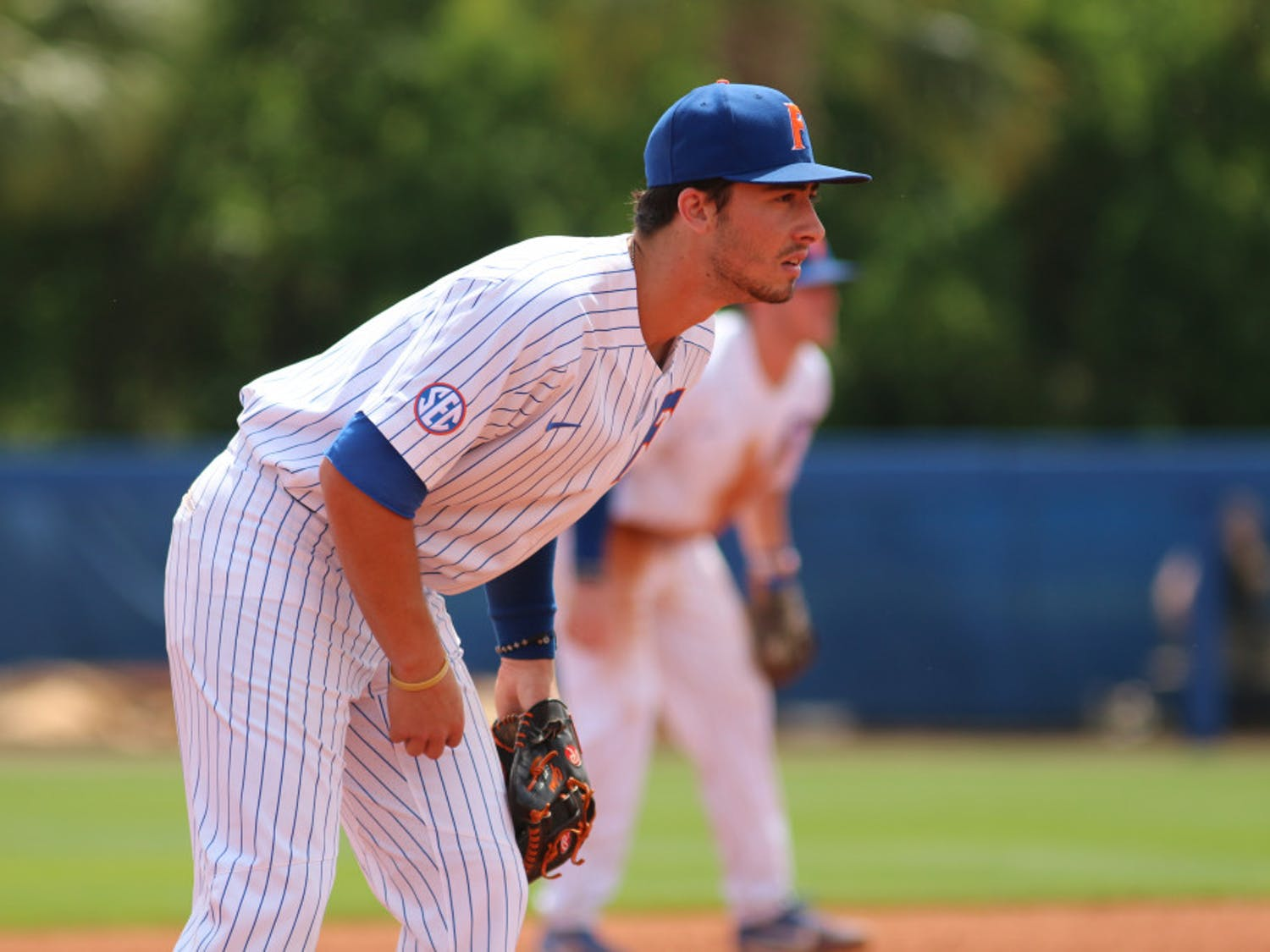 Third baseman Jonathan India went 2 for 5 with four RBIs in UF's 6-1 victory over Texas at the College World Series Tuesday. He gave the Gators a five-run lead with a three-run homer in the sixth inning.