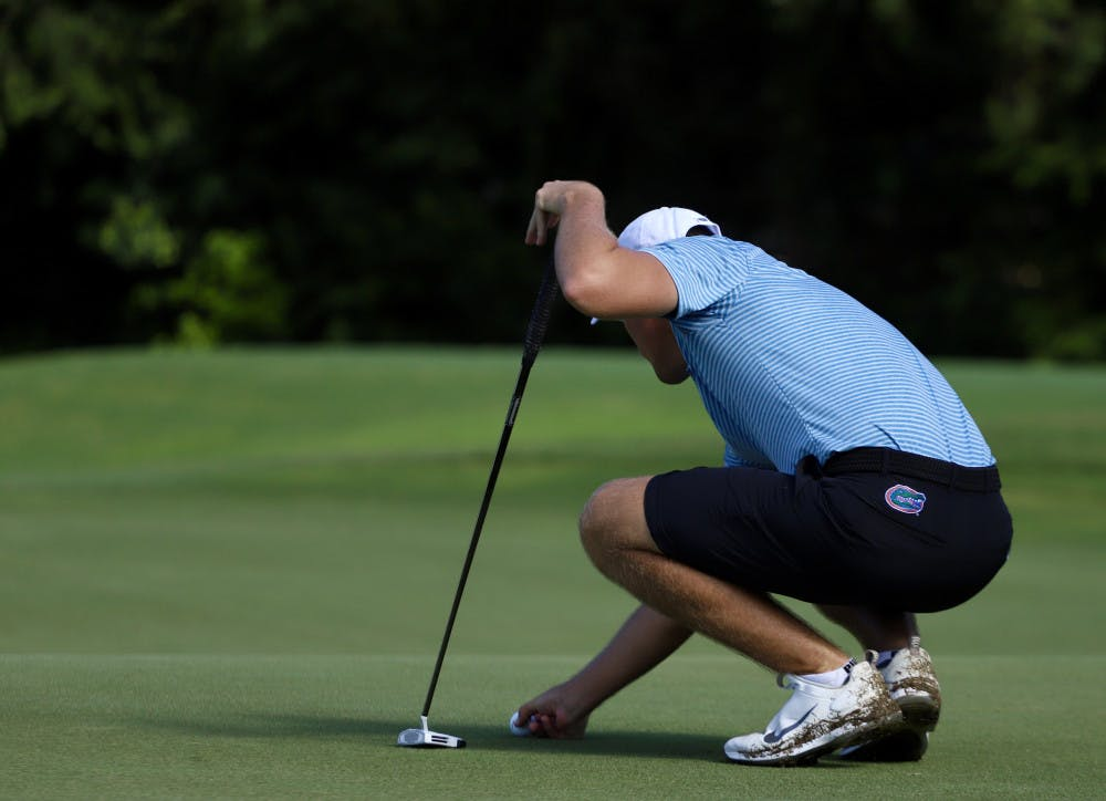 <p>Freshman Joe Pagdin will hit No. 3 for the Gators this weekend as they prepare for the 2021 Gators Invitational</p>