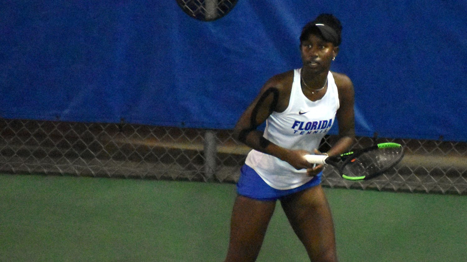 Florida's Marlee Zein competes in a match against Central Florida on Feb. 9, 2021.