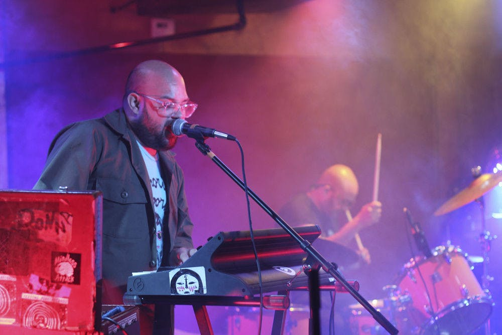 <p>Miami-based group The Jellyfish Brothers played songs at The Jam on Saturday during the Road to III Points event, which promoted the III Points festival happening in Miami from Oct. 9 to 11.</p>