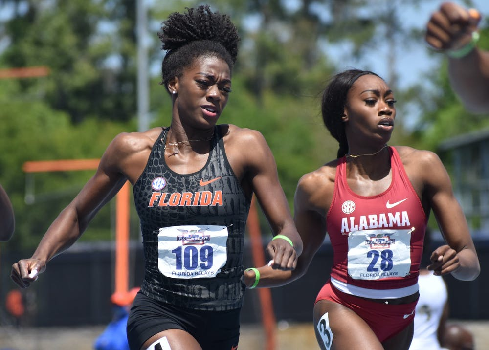 Florida picked up right where it left off and showed out in both short and long distance events as well jumps.