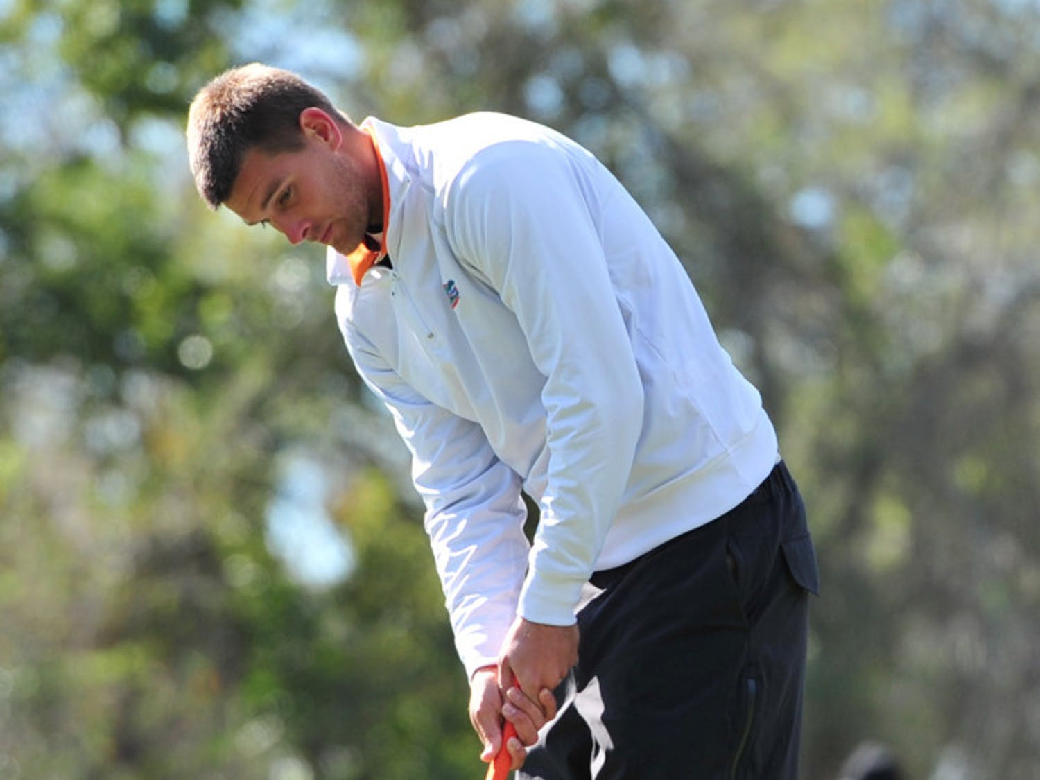 Senior T.J. Vogel and the Gators finished 25th at the NCAA Championships in Woodstock, Ga.