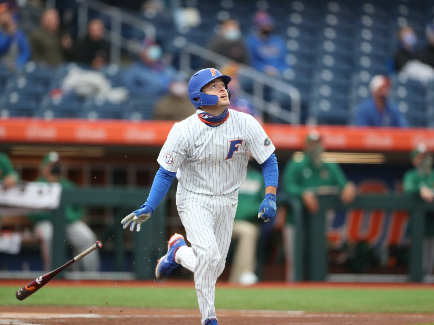 Florida's current opponents don't meet Miami's caliber, but the team has yet to lose since the Miami series. Photo from UF-Miami game Feb. 19. Courtesy of the SEC Media Portal.