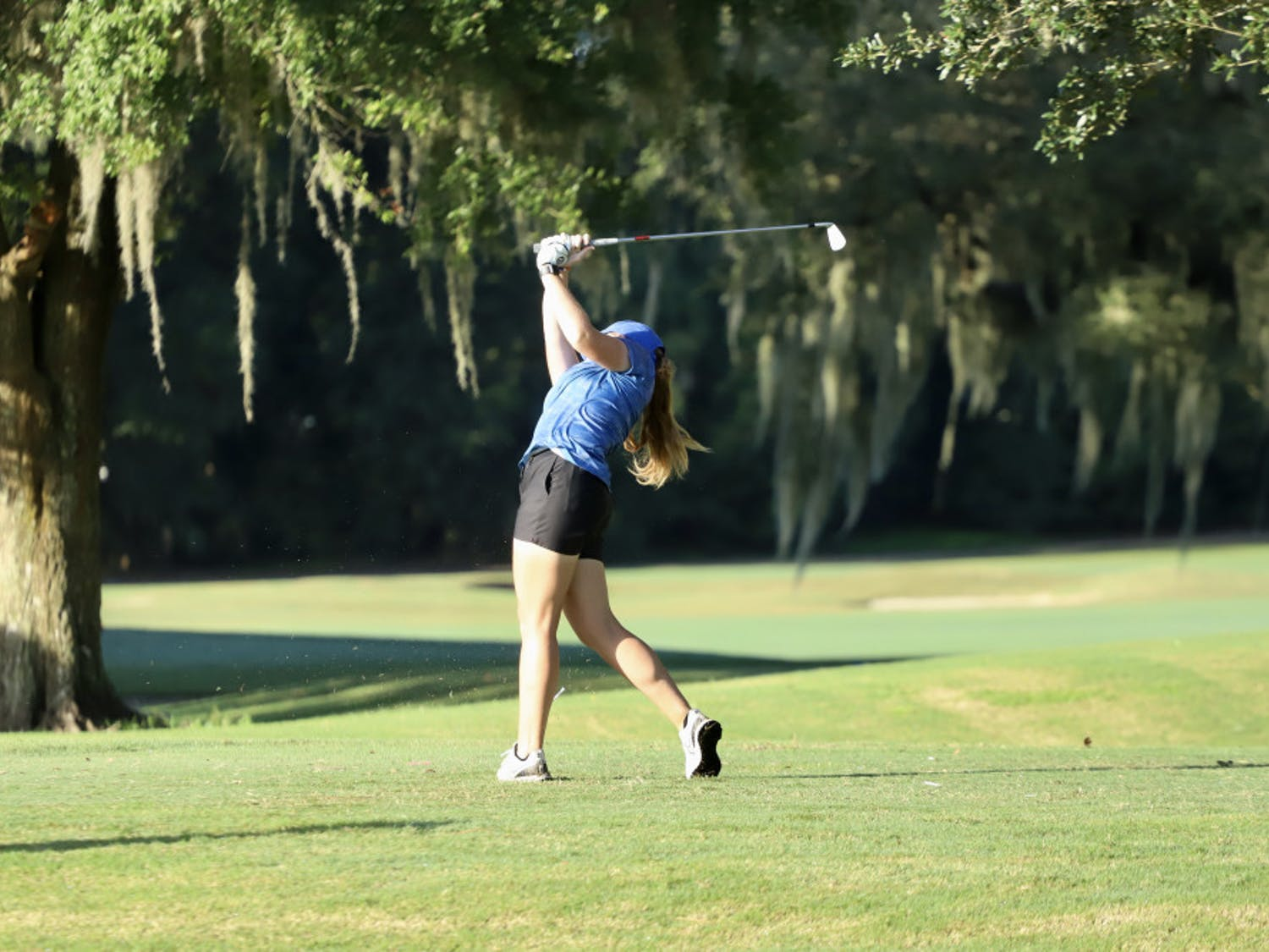 The Gators fell six spots in the team rankings during the second day of competition at The Ally at Old Waverly.