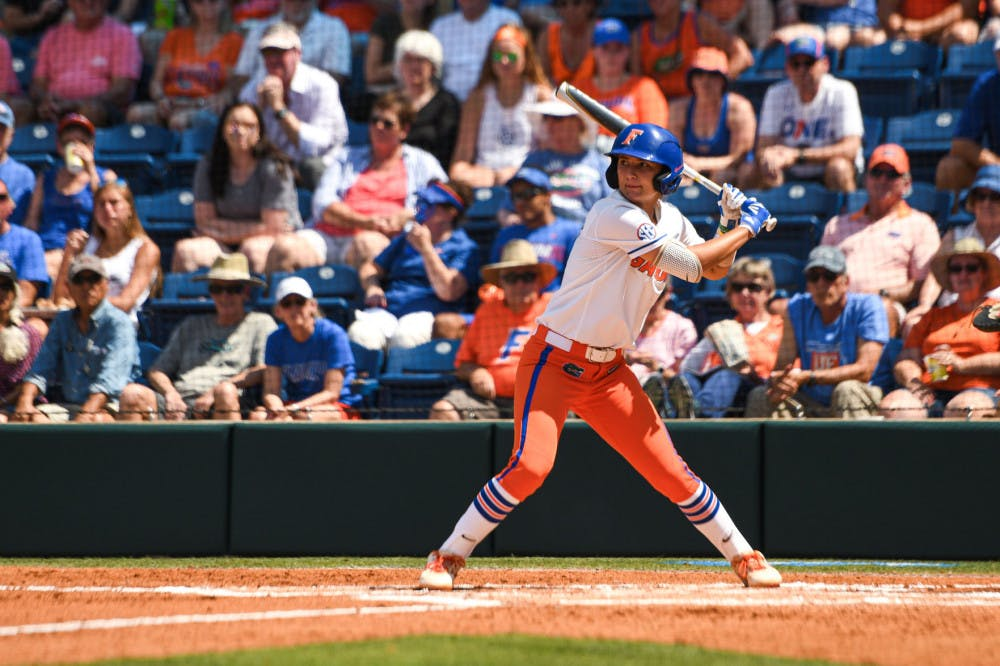 <p>Senior Hannah Adams broke the deadlock with a fourth-inning, 2-RBI single. </p>