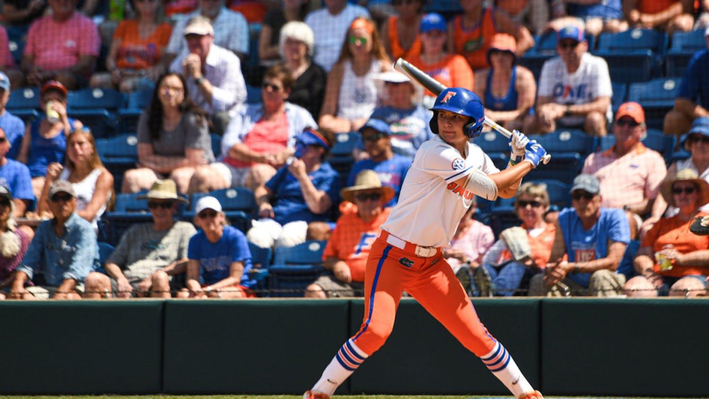 Senior Hannah Adams broke the deadlock with a fourth-inning, 2-RBI single.