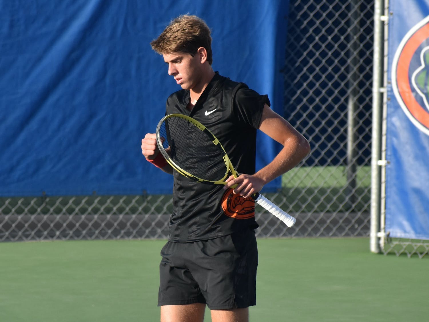 The singles matchups played a key role for No. 1 Florida as Josh Goodger and Blaise Bicknell pace to hold a perfect record by the end of the year.