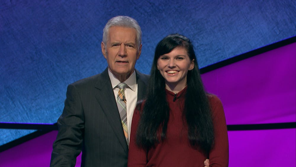 """<p>Jade Ryan, a 25-year-old UF English senior, will appear on an episode of """"Jeopardy!,"""" a trivia television show, at 7:30 p.m. on Tuesday, Feb. 5.</p>"""
