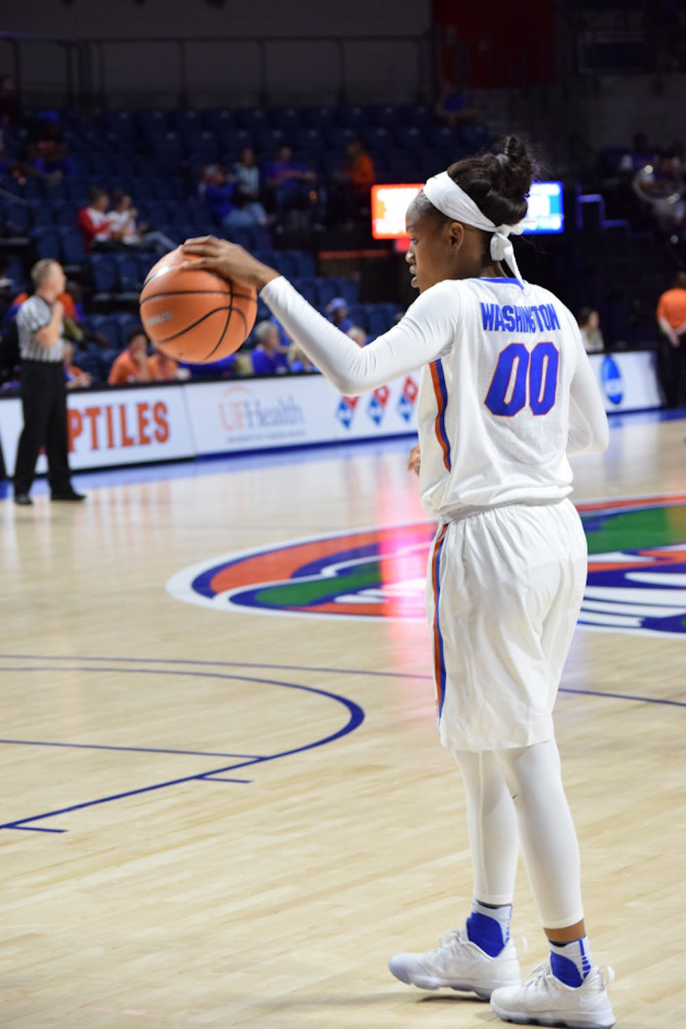 """<p><span id=""""docs-internal-guid-a48829f9-cb3d-40fc-b955-38fc9d61a27a""""><span>Coach Cameron Newbauer said UF has to do a better job passing and hauling in rebounds if it wants to beat No. 17 Florida State tonight at 7 at the O'Connell Center.</span> <span><br class=""""kix-line-break"""" /></span></span></p>"""