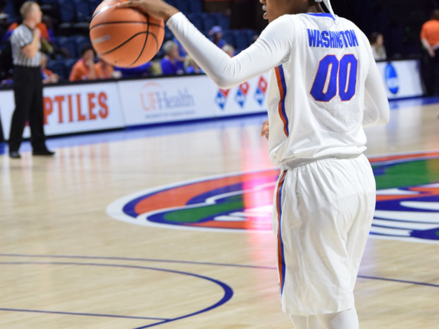 Coach Cameron Newbauer said UF has to do a better job passing and hauling in rebounds if it wants to beat No. 17 Florida State tonight at 7 at the O'Connell Center.