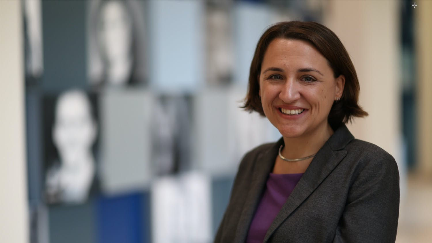 Erica Studer-Byrnes, the assistant dean and director of the Warrington College of Business.