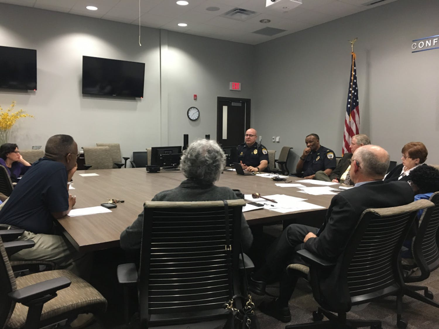 Members of the Police Advisory Council talk about increased gang violence in Gainesville.