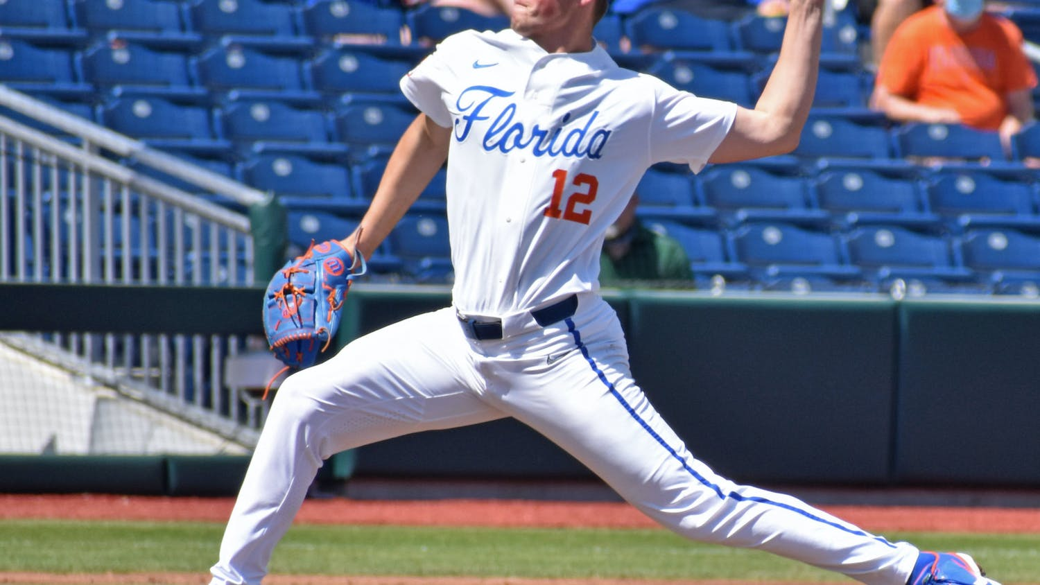 Southpaw Hunter Barco pitches against Jacksonville on March 14