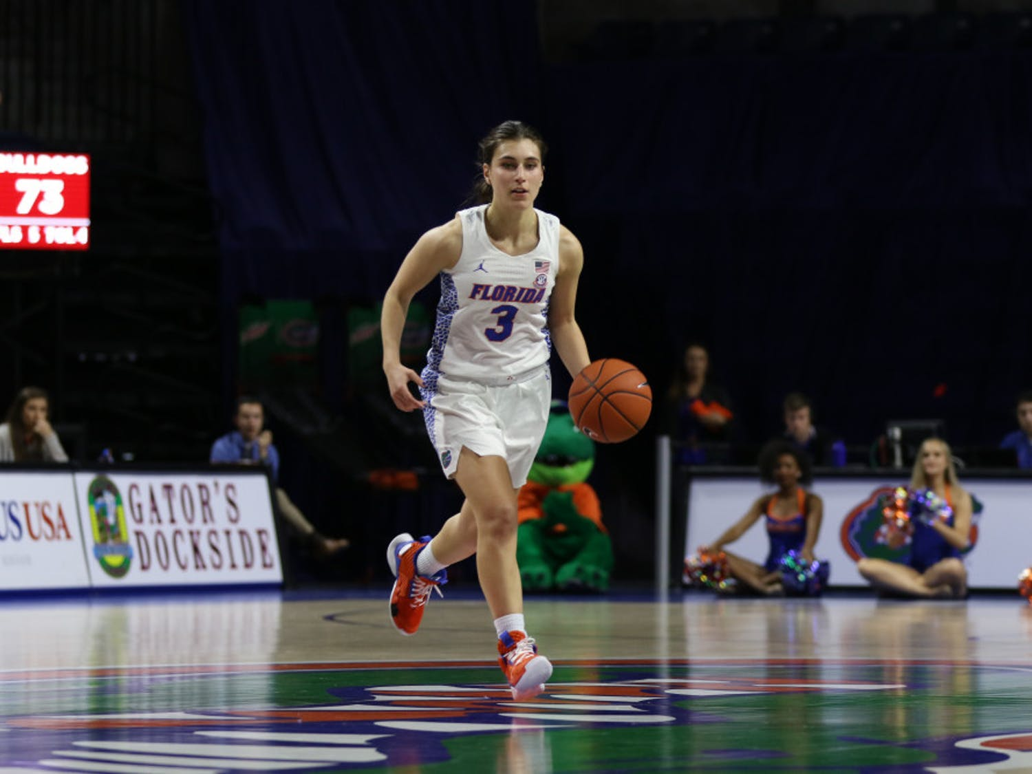 Florida guard Funda Nakkasoglu leads the Gators with 16.3 points per game this season, roughly six points higher than the next player.