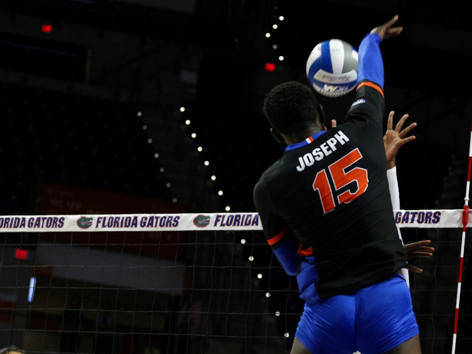 Outside hitter Shainah Joseph was one of the most improved athletes for UF this season.