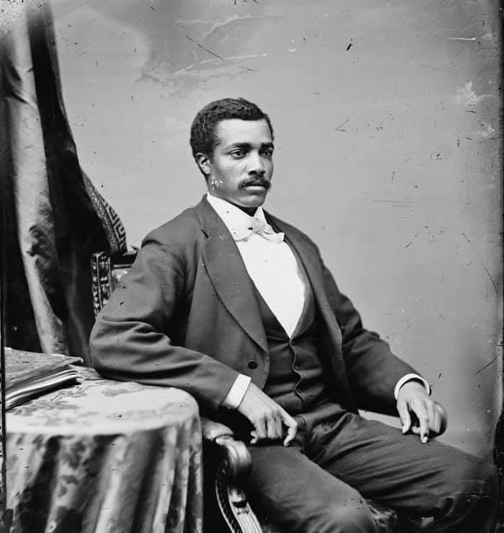 "<p dir=""ltr""><span>Josiah T. Walls fought in the Civil War, served as the mayor of Gainesville and was Florida's first African American representative in Congress.</span></p>"
