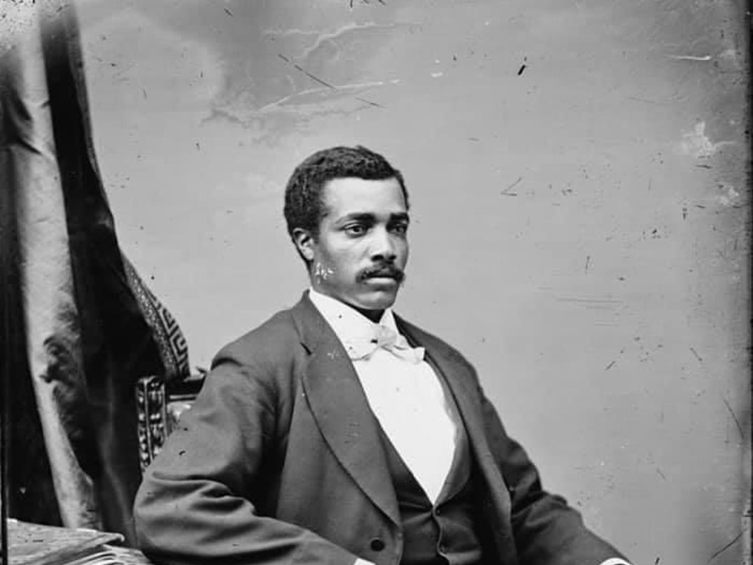 Josiah T. Walls fought in the Civil War, served as the mayor of Gainesville and was Florida's first African American representative in Congress.