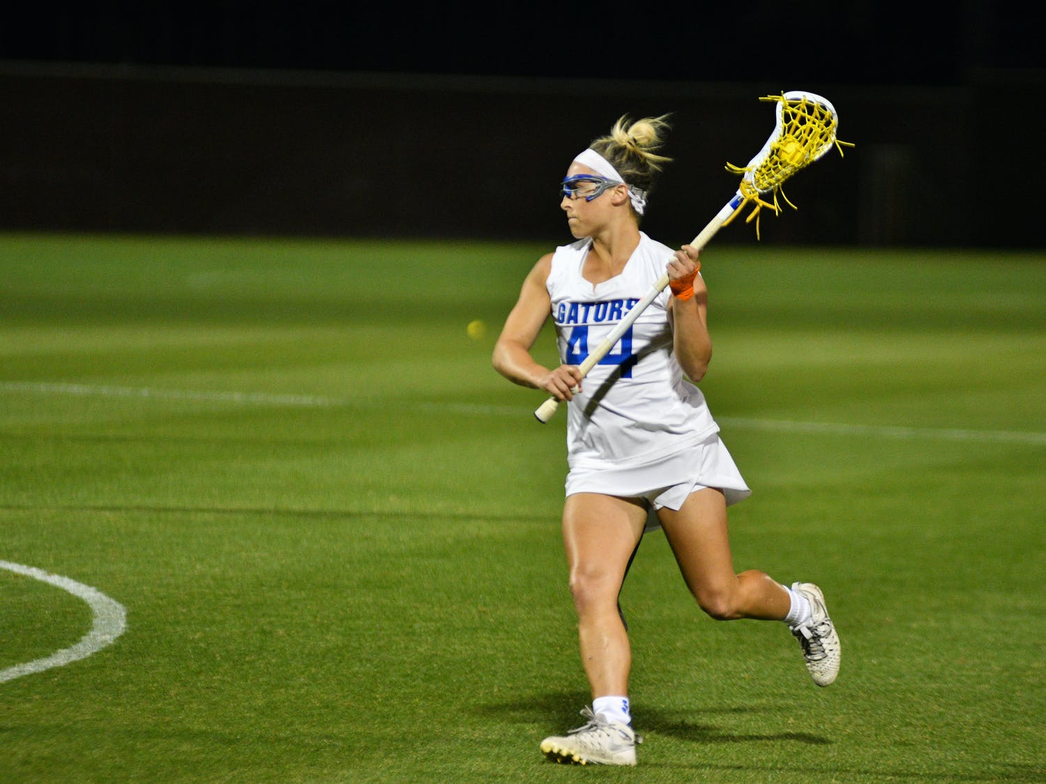 MidfielderSydney Pirreca tied the program record with 11 points as UF advanced to the AAC Championship.