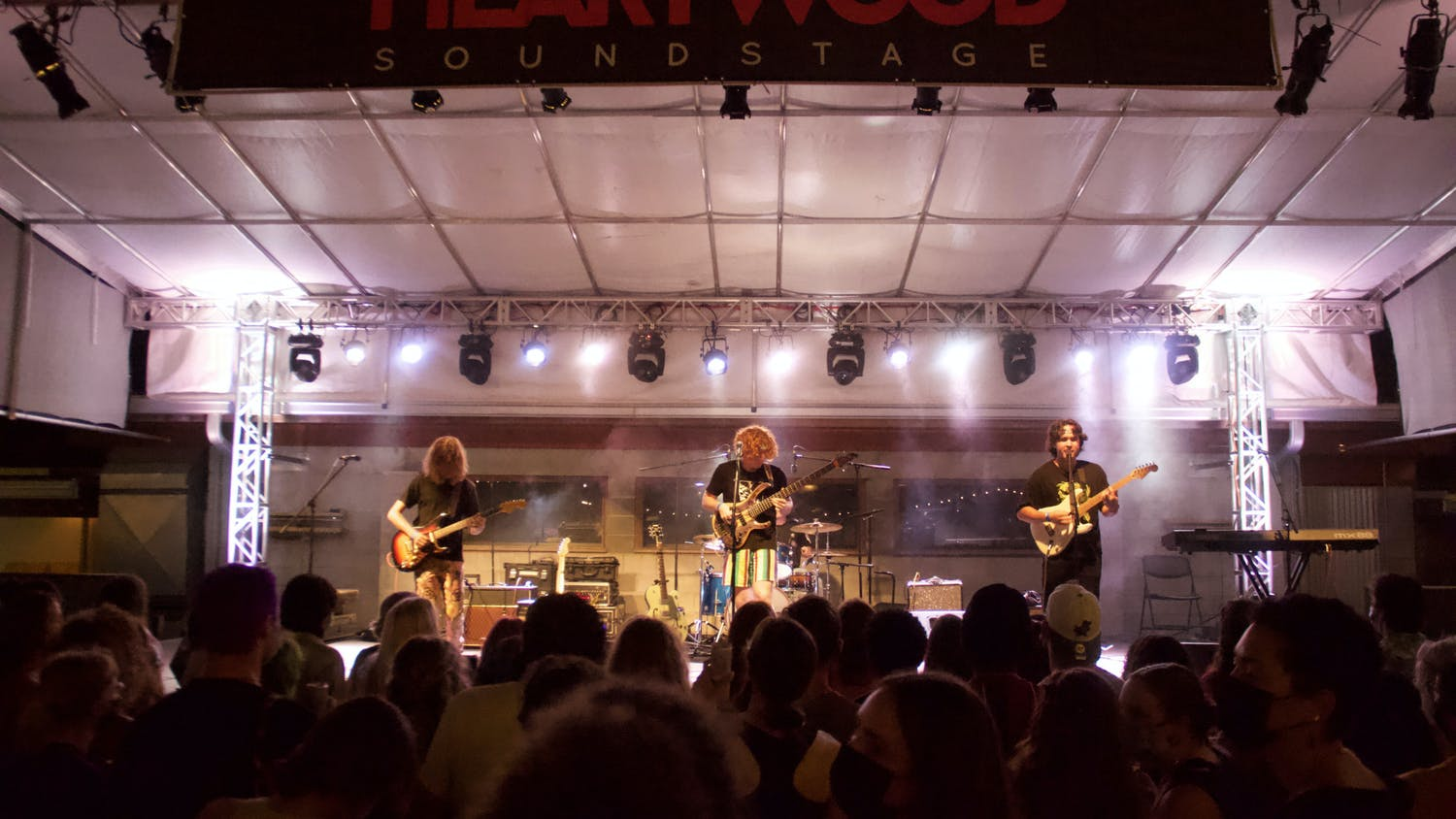 The Driptones perform during Back to School Fest Heartwood Soundstage on Saturday, Aug. 28, 2021. The venue hosted five indie bands to celebrate the start of a new school year.