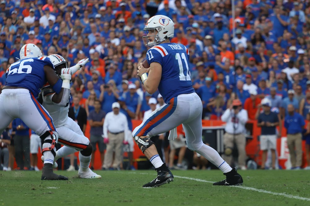 <p>The redshirt senior was Florida's eighth finalist and would have been Florida's fourth winner. Photo from Florida-Auburn game in October 2019. </p>