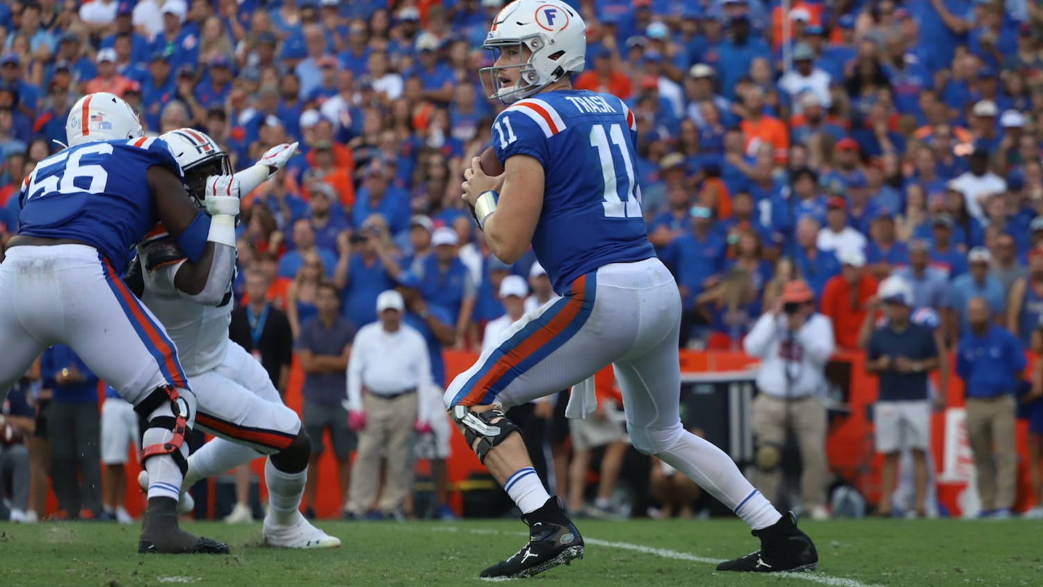 The redshirt senior was Florida's eighth finalist and would have been Florida's fourth winner. Photo from Florida-Auburn game in October 2019.