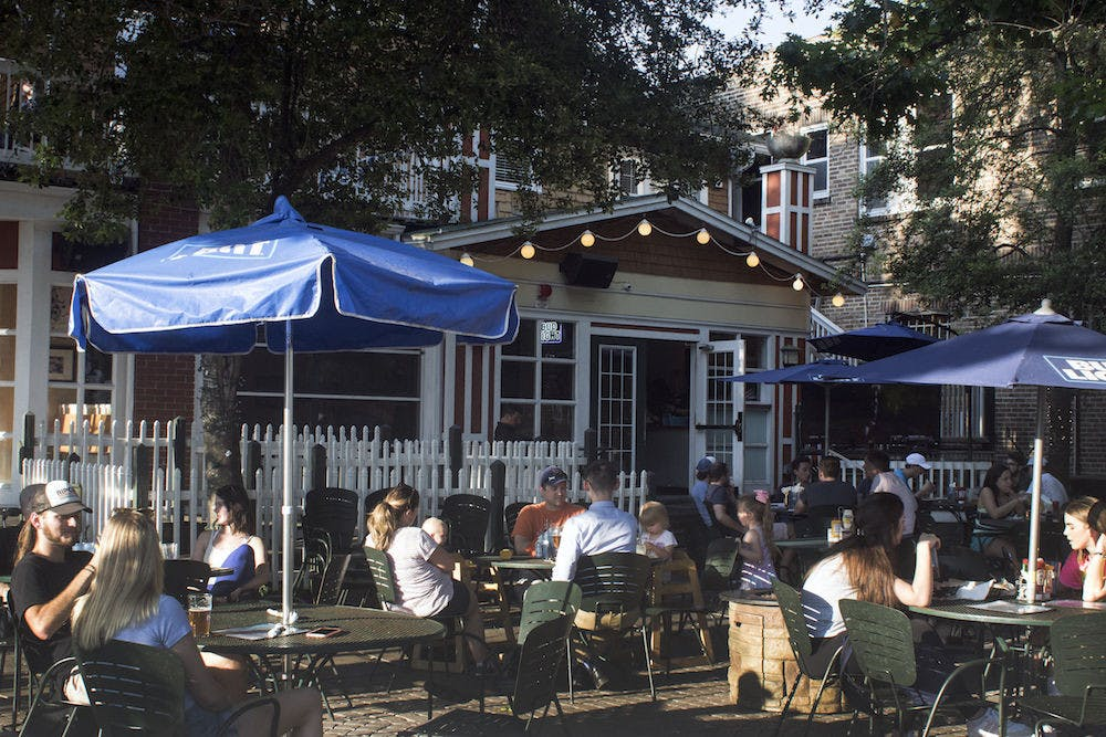 <p>People eating at The Swamp Restaurant in 2019. Gainesville&#x27;s iconic restaurant will return at a new location closer to downtown in 2022.</p><p></p>